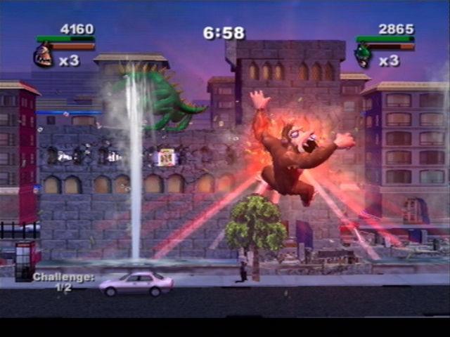 Rampage Total Destruction Playstation 2 Affordable Gaming